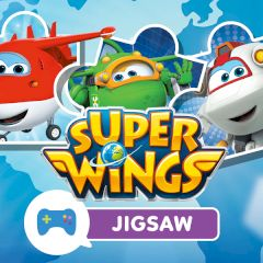 Super Wings Jigsaw