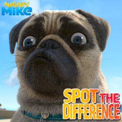 Mighty Mike Spot the Difference