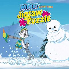 New Looney Tunes Winter Jigsaw Puzzle