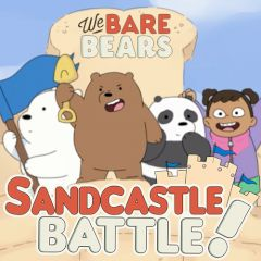 We Bare Bears Defend the Sandcastle!